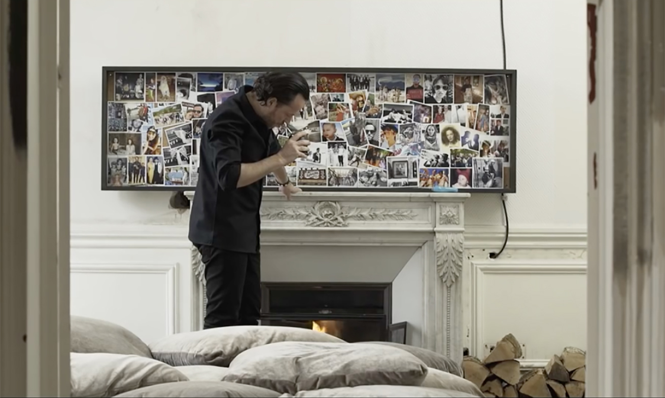 Bureau Designer Mario Testino Visits The Home Of Set Designer Alexandre De Betak