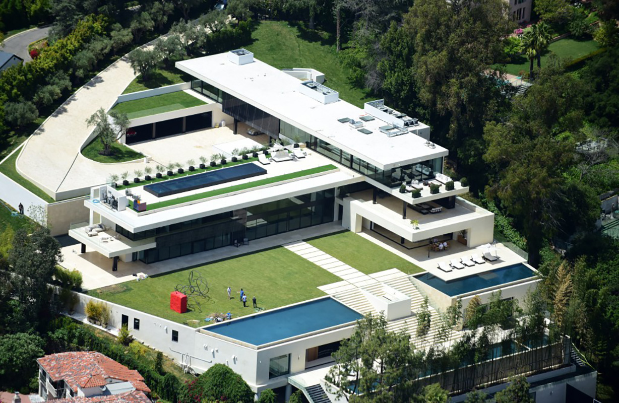 Bel Air Mega Mansion For Sale The World 39s Most Expensive Homes Sold In 2017