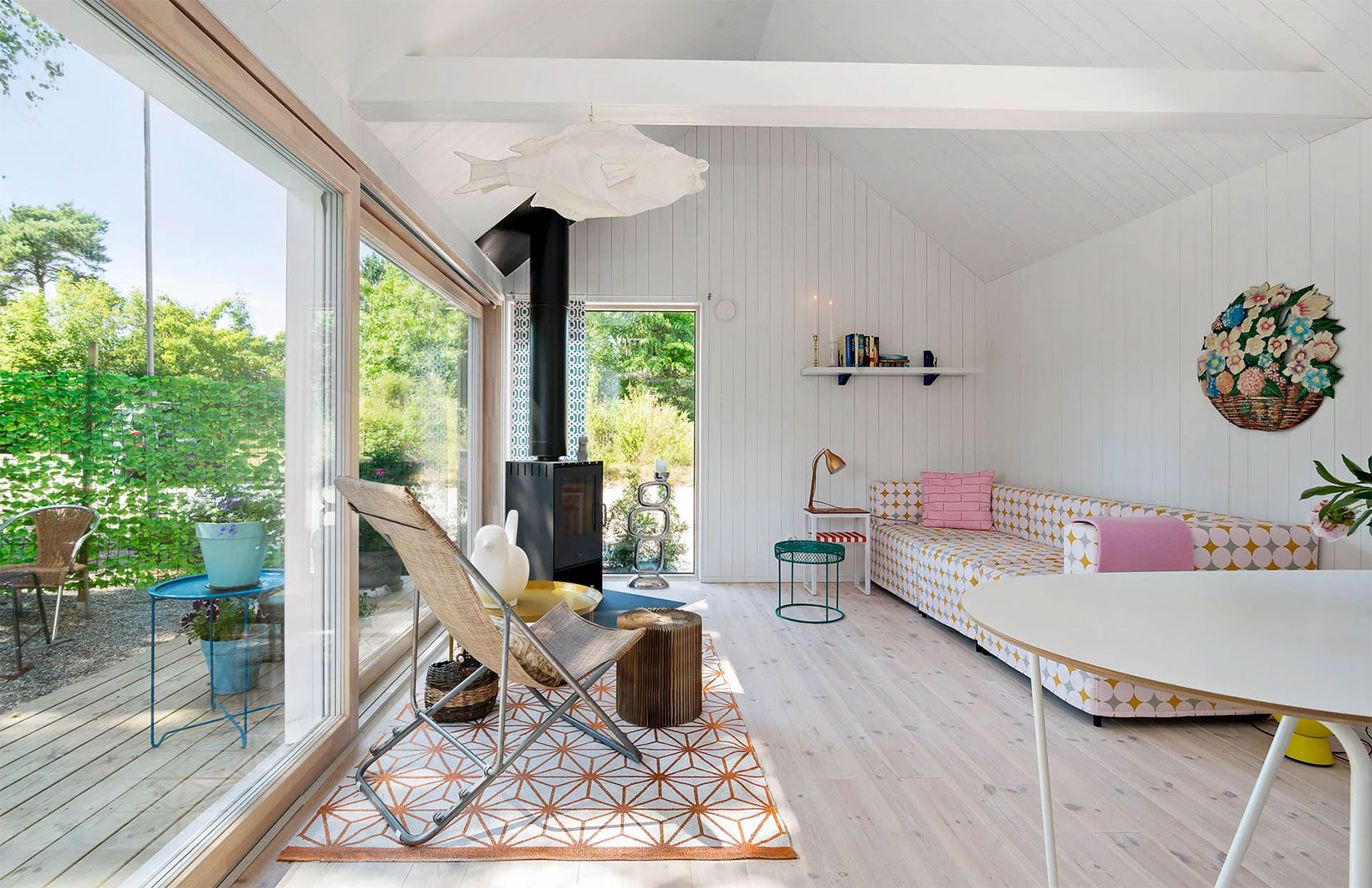 Swedish Living Room Property Of The Week A Dreamy Summer Cabin In Sweden S Smygehamn