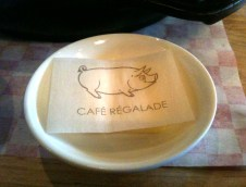 cafe regalade details