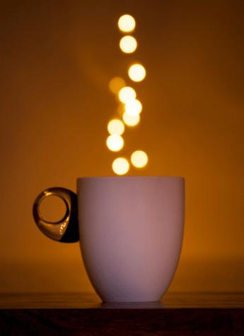 coffee sparkles