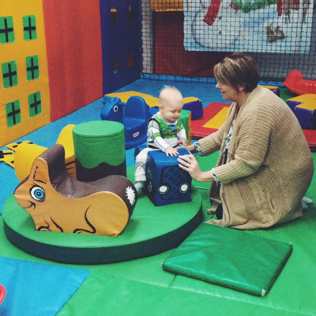 First visit to soft play