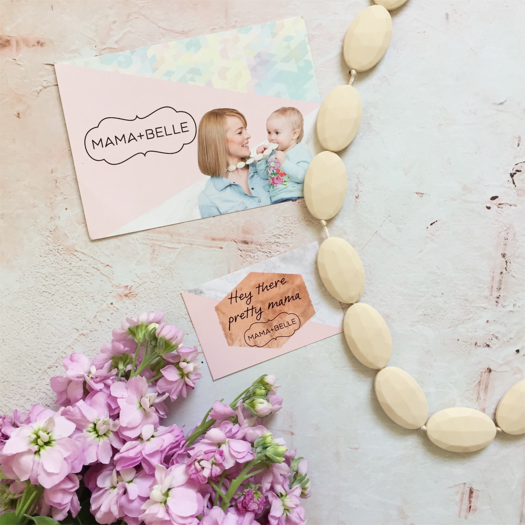 Mama and Belle Juliette Necklace