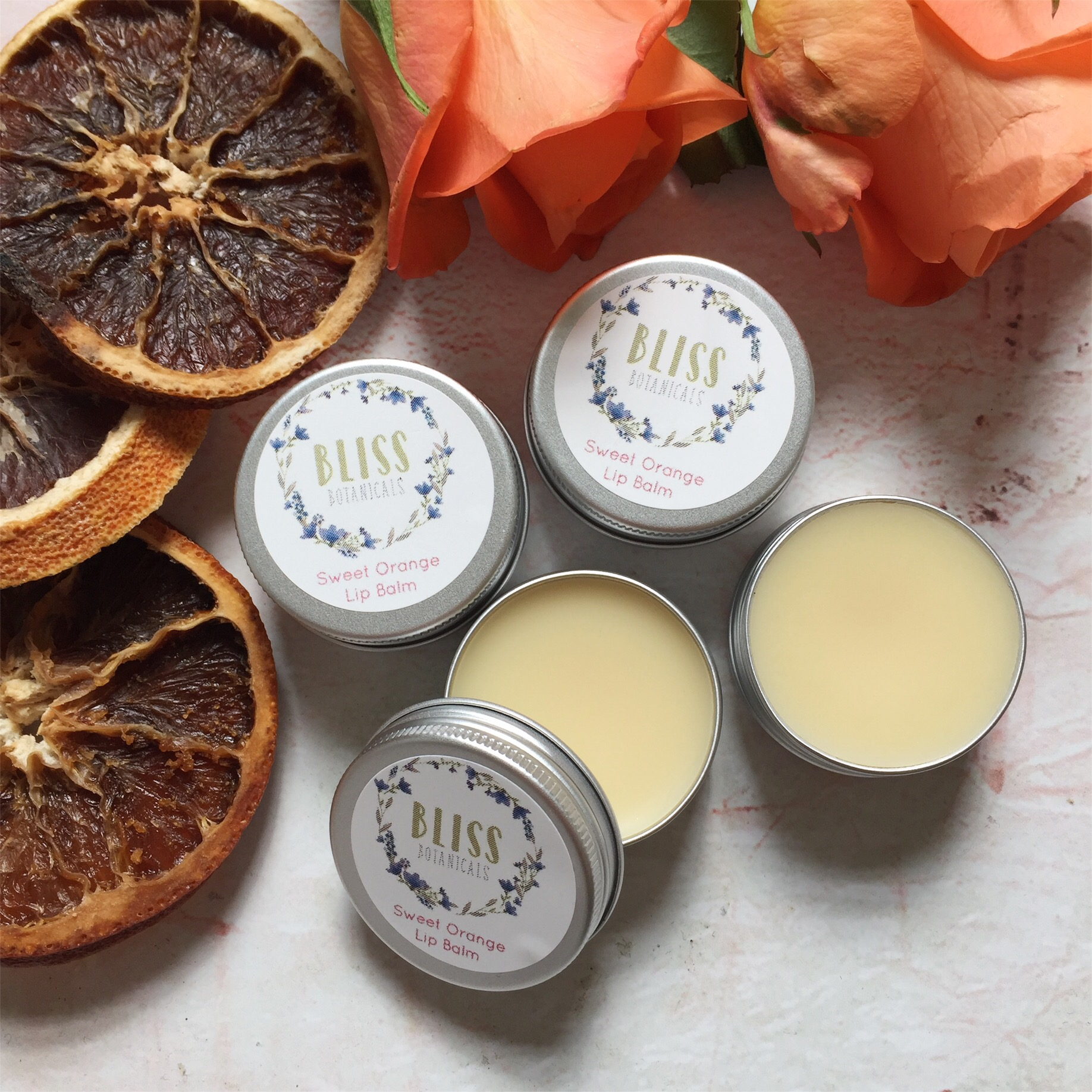Sweet Orange Vegan Lip Balm