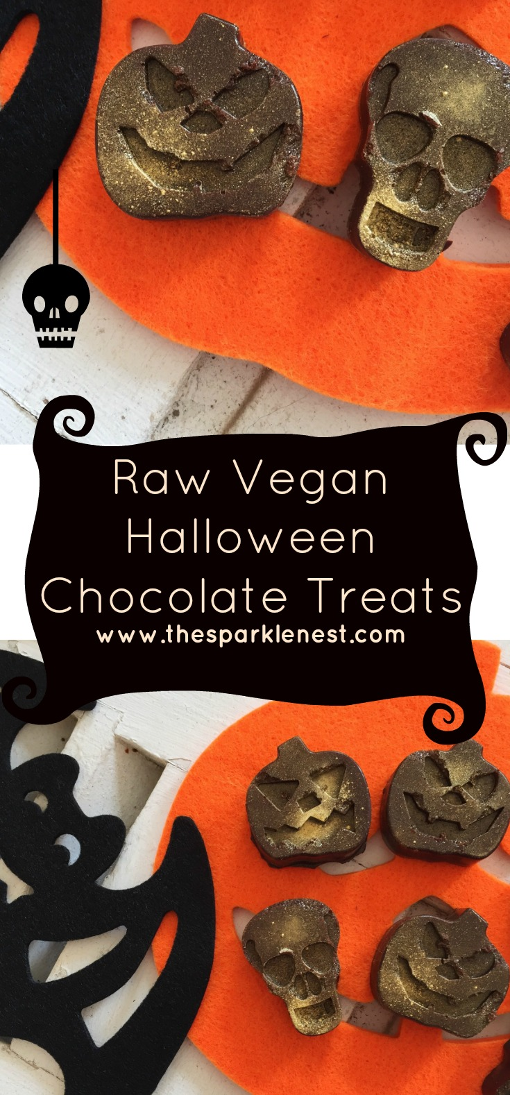 Vegan Halloween Chocolate