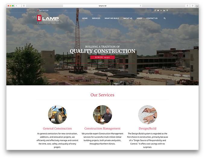 Construction Business Websites Get the Design Upgrade They Deserve