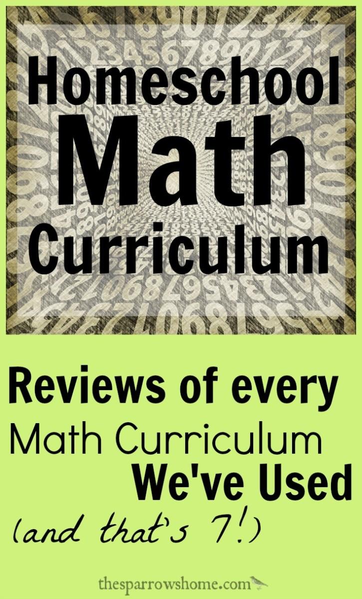 7 Honest Math Curriculum Reviews
