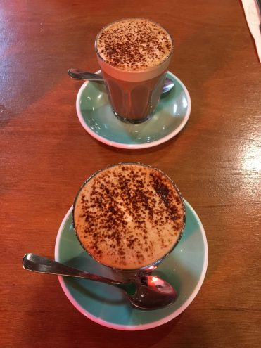 Two Delicious Mochas ($4.50 each)