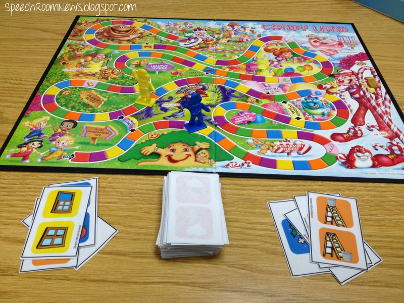 Candy Land Language PRESCHOOL Edition - Speech Room News