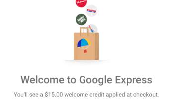 Google Express $15 off $15 purchase = FREE Toys, Groceries and more!