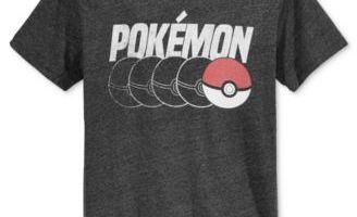 Macy's – Men's Pokemon Tees $9.99 (Regular $24.99)