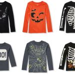 The Children's Place – Halloween Glow in the Dark Shirts $5