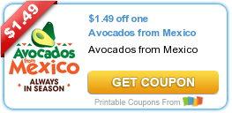 Buy One Get One FREE Avocado Coupon
