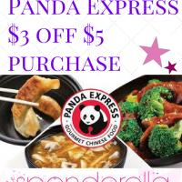 Panda Express $3 off $5 Promo Code
