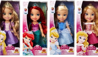 Disney Princess Toddler Dolls $9.88 (Regular $19.67)