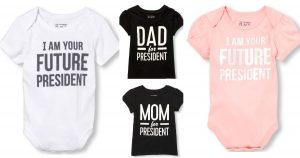 $.99 President Shirts & Onsies (Regular $9.50) + FREE Shipping