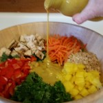 Coconut Curry Chopped Thai Salad
