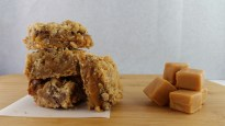 Oatmeal Caramel Dream Bars - The Spicy Ginger