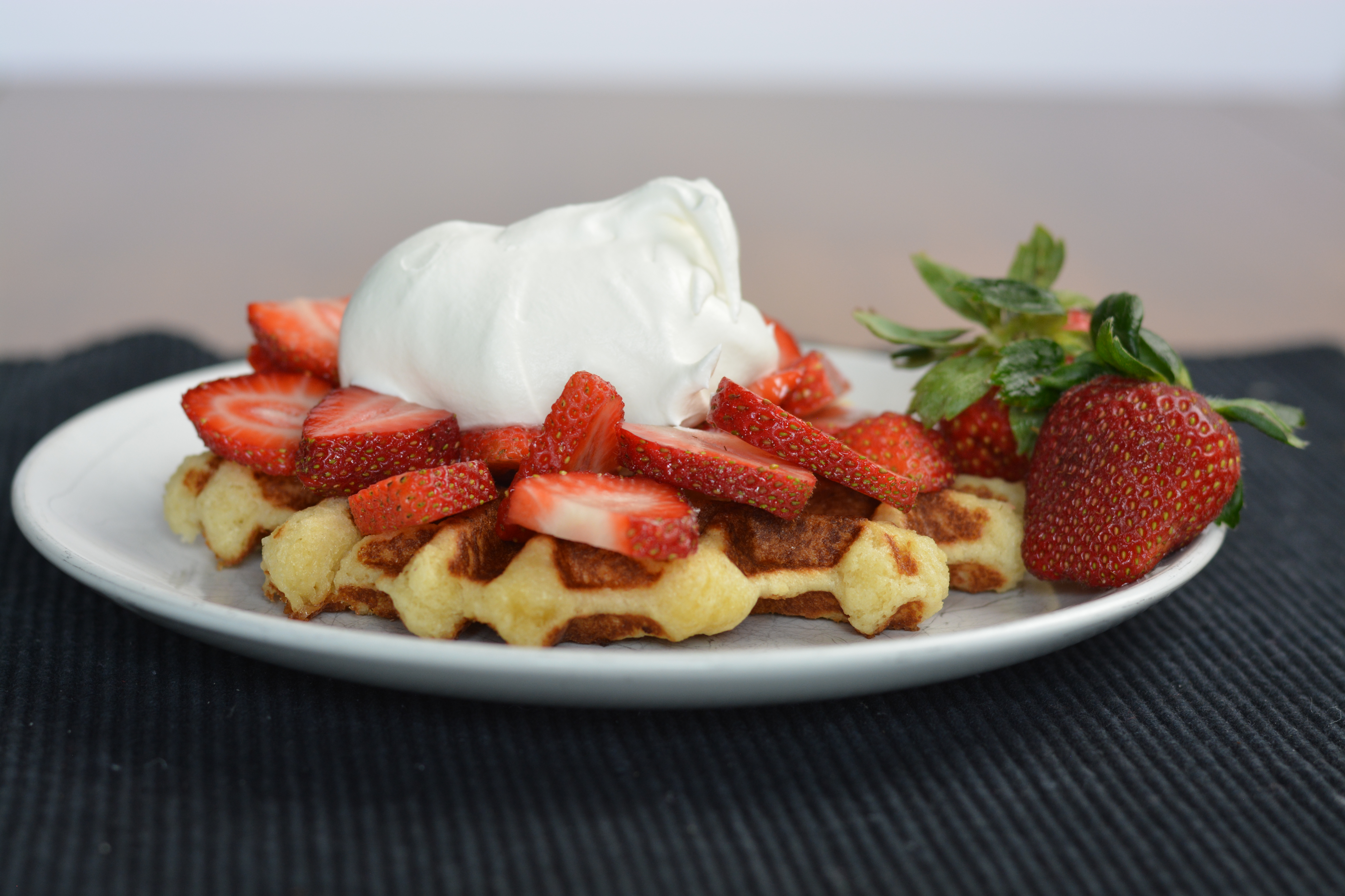 Easy belgian lige waffles the spicy ginger forumfinder Choice Image