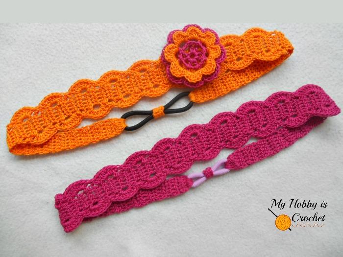 Crochet This Ingenious Elasticized Hair Band Free Pattern