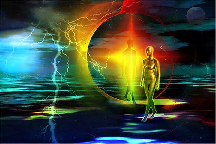 Spiritual-material dimension
