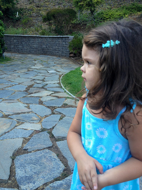 Profile Of A Little Girl