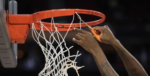 NCAA Men's Basketball Cutting Down Nets