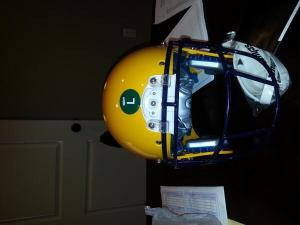 LSU Helmet with Camera