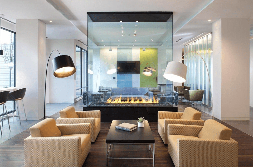 Fake Kamin Modern 22 Beautiful Living Rooms With Fireplaces