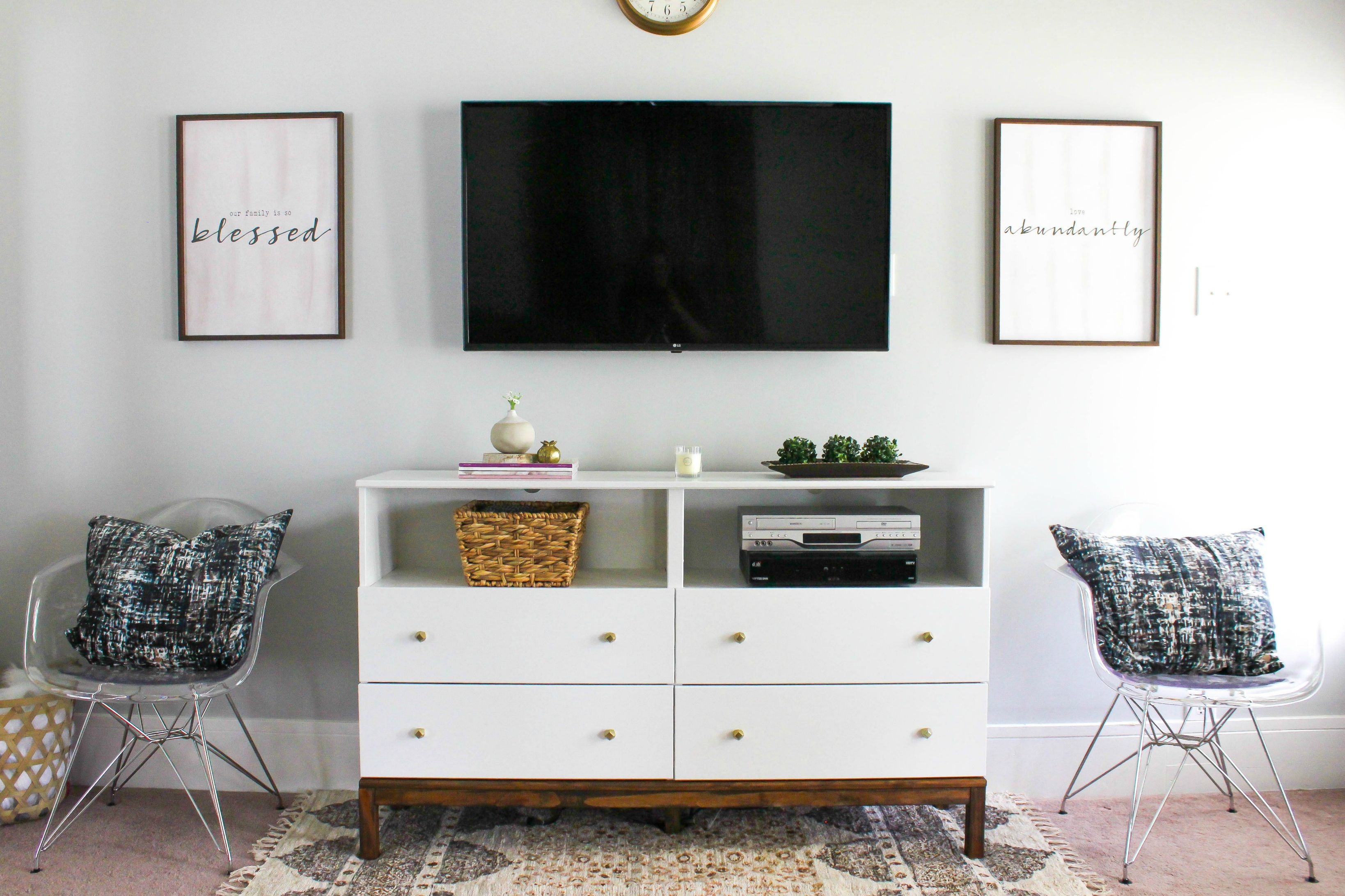 Ikea Furniture Tv Stand 6 Diy Tv Stands That Hide Ugly Cable Boxes And Wires