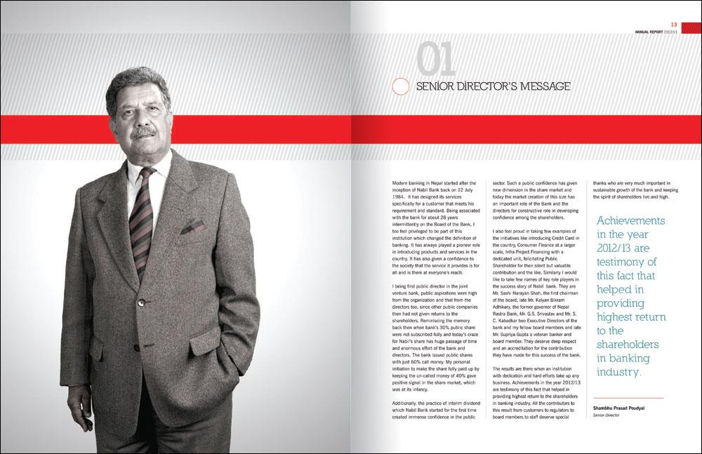 Award Winning Annual Report Design - TheSquare Design