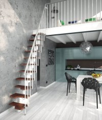 Venus Space Saving Stair | The Staircase People | Spiral ...