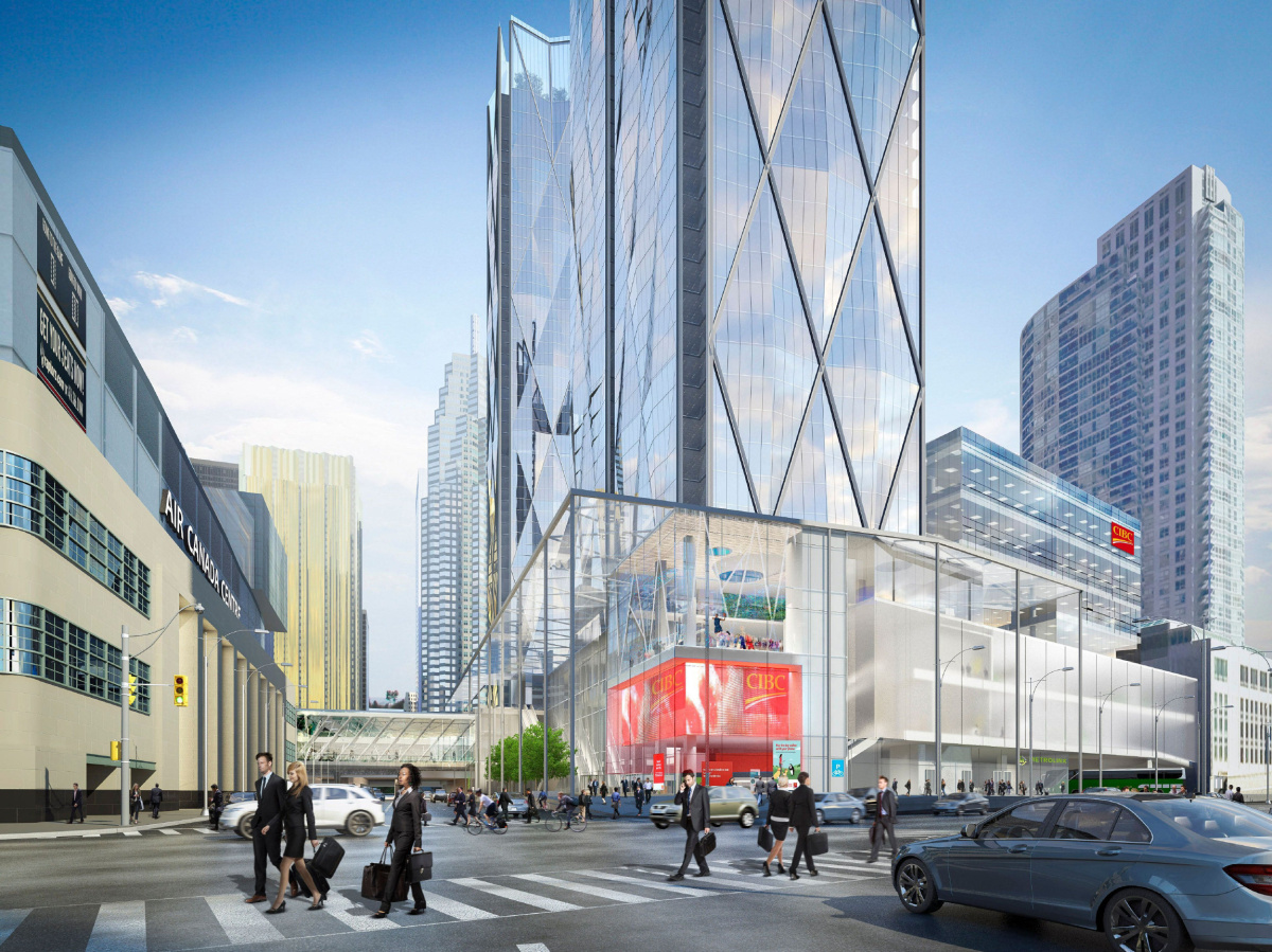 Centre Commercial Buld Air Cibc To Move Head Offices To New Bay Park Centre Toronto