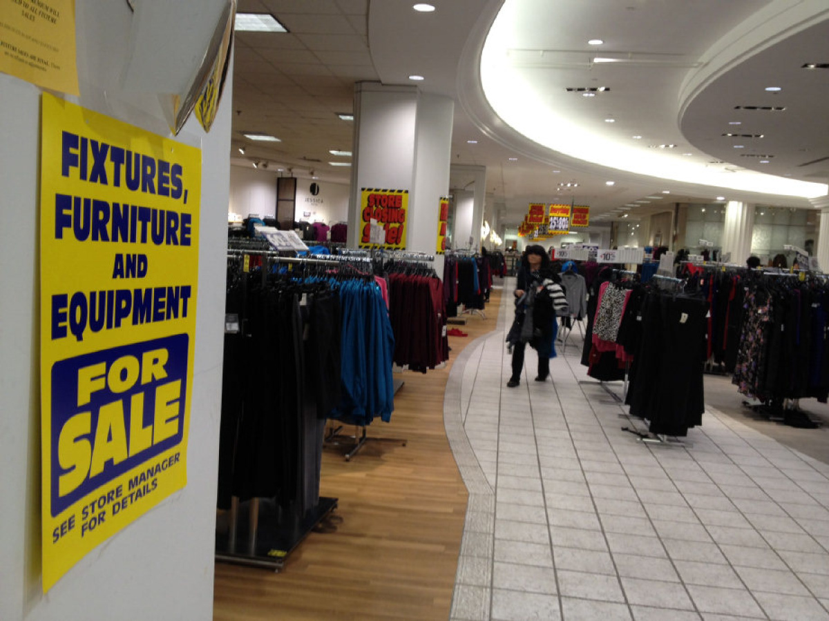 Liquidation Stores In Gta Does Sears Have A Future In Canada Toronto Star