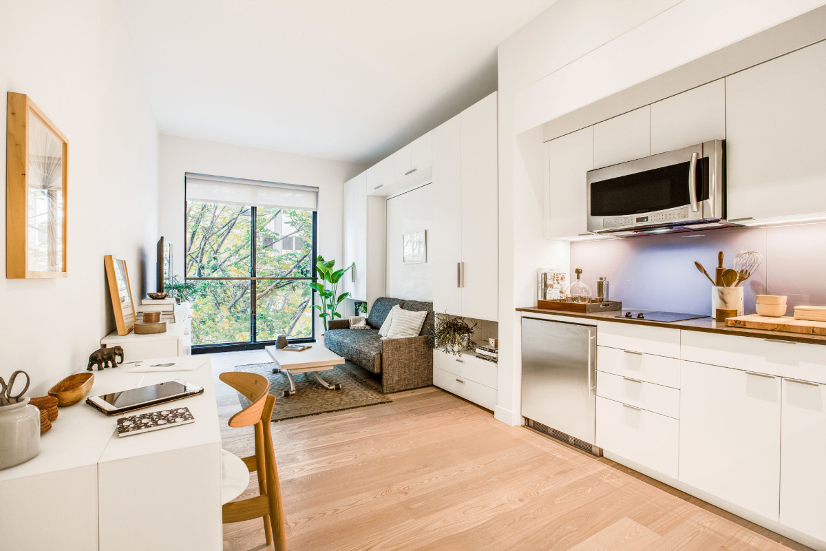New York Micro Apartments Have Residents Living Small