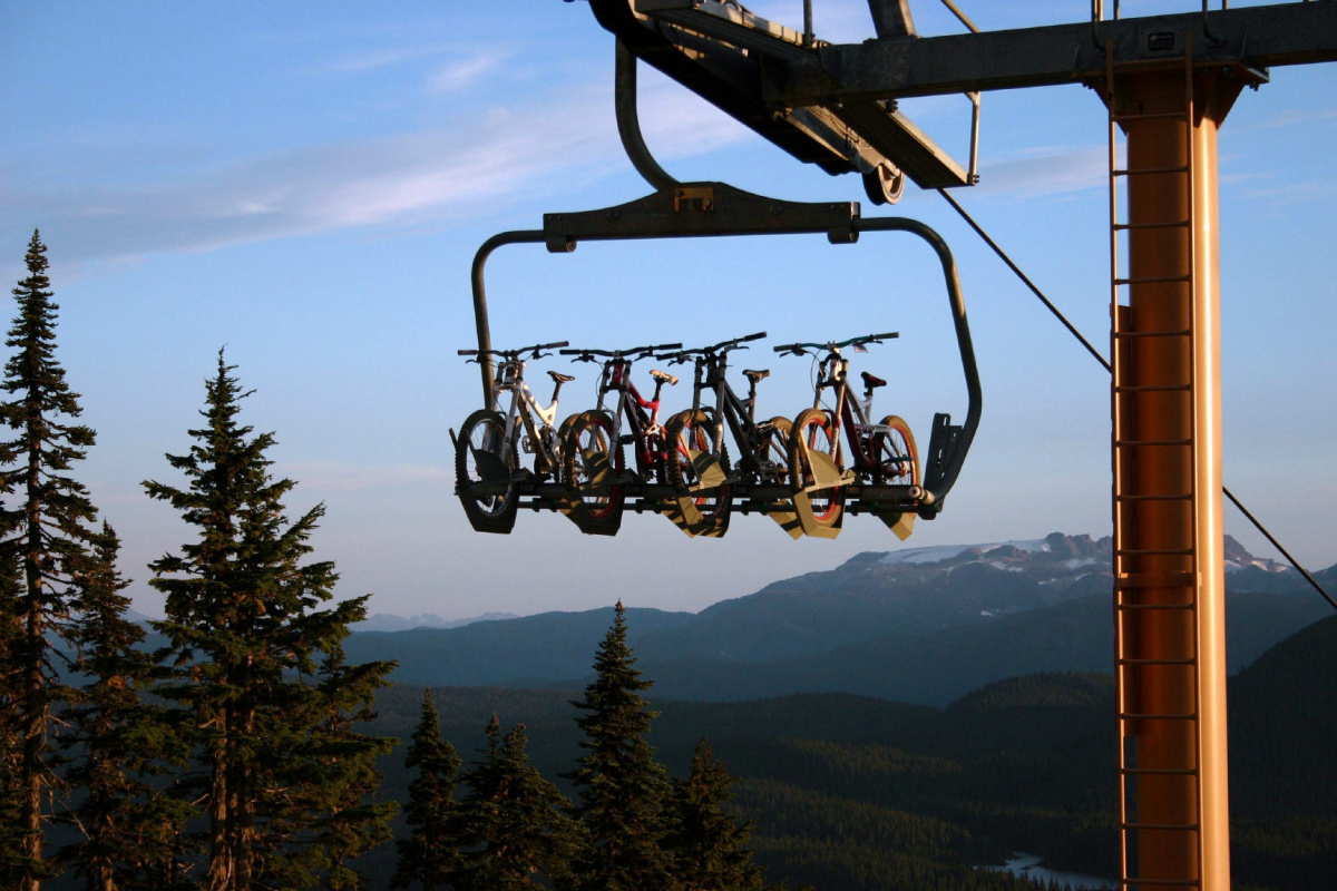 Biking Bikes Hitting The Slopes In Summer: Vancouver Island Resort