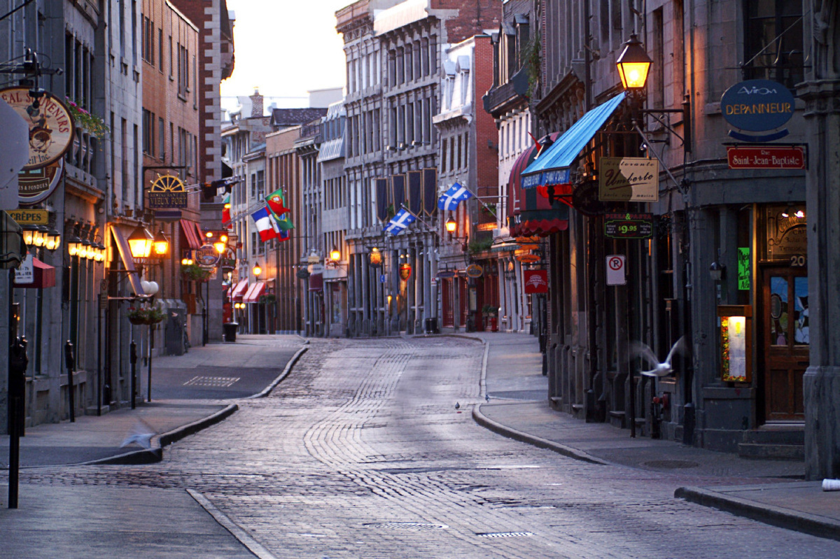 Old Montreal Quebec Travel Montreal A Stunning Bargain In Off Season