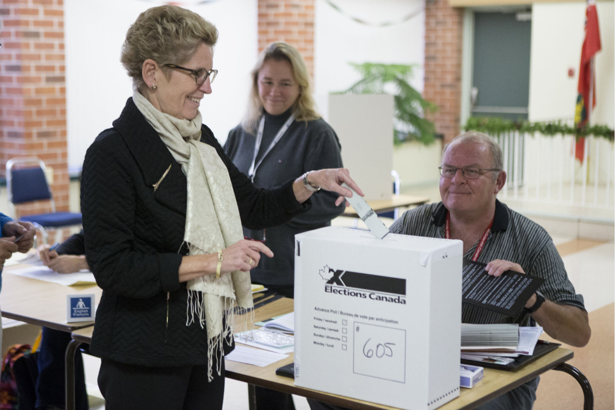 Bureau De Vote Nice Balance Theory Could Provide Insight Into How Ontario Voters Will