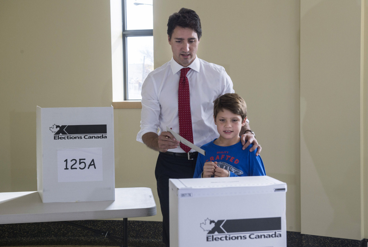 Canada Political Polls Election Numbers Reveal Scope Of Canadas Big Day