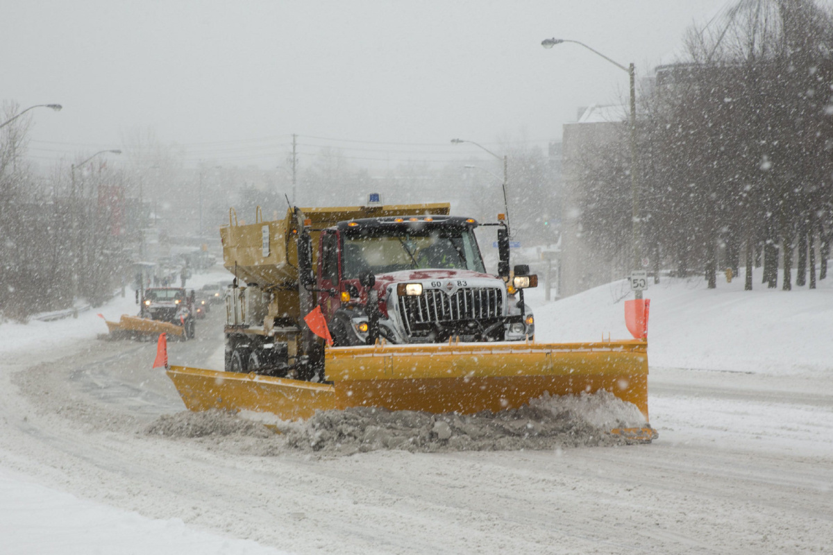 Canadian Snow Plow City Of Toronto 39s New Snow Plow Tracking Map Put To The