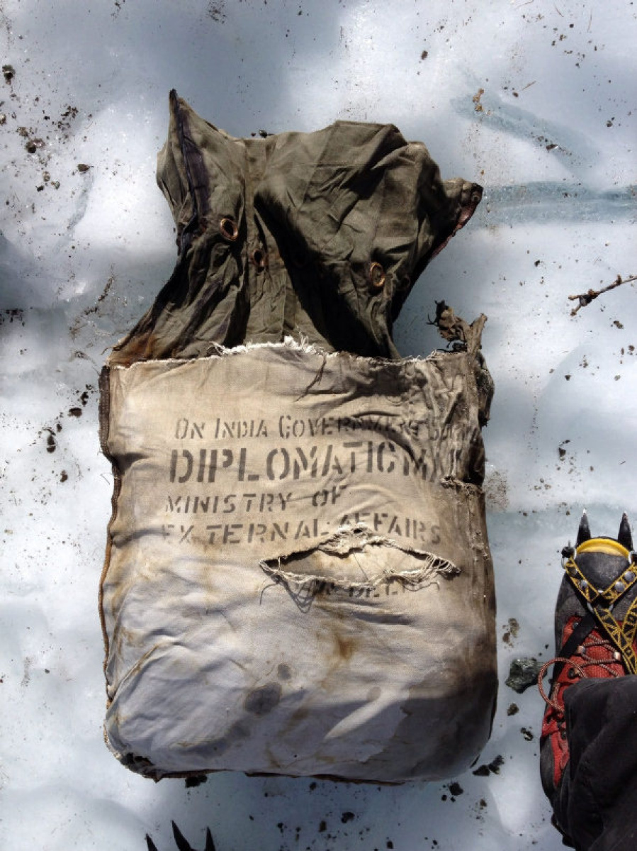 Week Paris Indian Diplomatic Pouch From 1966 Found In Plane Wreckage