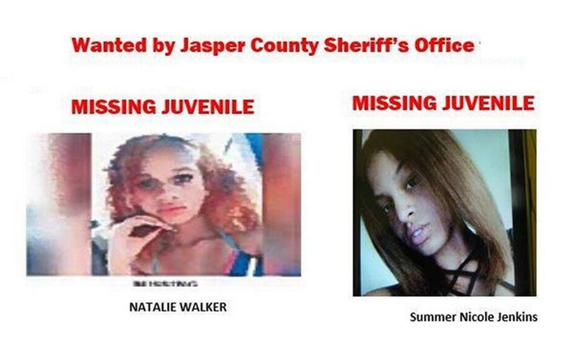 Natalie Walker 2 Teenagers Reported Missing In Jasper County Within A Day Of Each