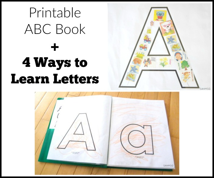 Printable ABC Book Preschool Learning Activities The Stay-at-Home