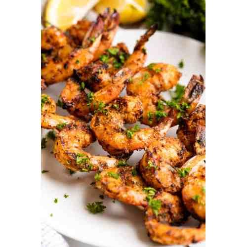 Medium Crop Of How Long To Grill Shrimp