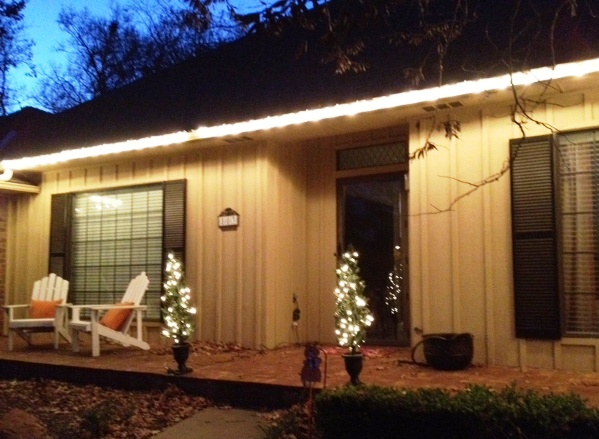 Outdoor Patio Lights String Inspire Mainstays 20 Count