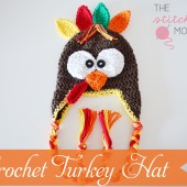 Crochet Turkey Hat - Free Pattern