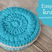 Easy Face Scrubbies - Free Pattern