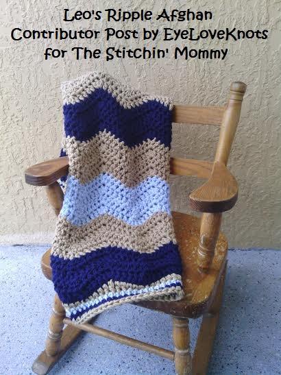 Leo's Ripple Afghan – Free Crochet Pattern