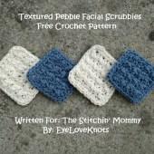 Textured Pebble Facial Scrubbies - Free Crochet Pattern