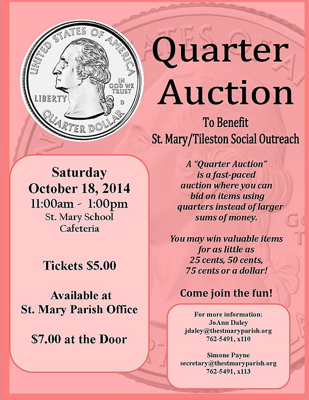Free Fundraiser Flyer Charity Auctions Today Volunteer Brochure